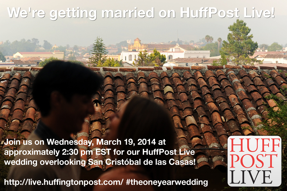 HuffPost Live Wedding: The One Year Wedding